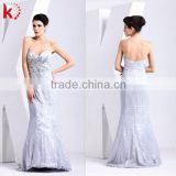 2014 New Design Off Shoulder Backless Beaded Lace Mermaid Ladies Fashion Dresses With Pictures