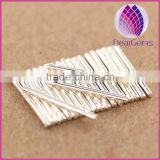 Wholesale 0.75*11mm 925 sterling silver earstud pin