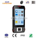 China factory oem touch screen rugged waterproof android mobile phone cheap rs232 wifi bluetooth nfc card reader pda