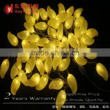 Garden display IP65 String lighted artificial crystallized fruits and vegetables