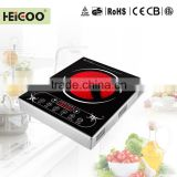 Kitchen Appliance Stainless Steel Body Sensor Touch Control Hot Pot Infrared Ceramic Cooker