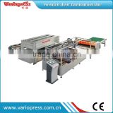 wooden door AB glue lamination production line