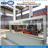 Low cost wood shavings machine for wood logs