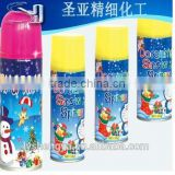msds foam snow spray for birthday party