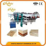 NEW DESIGN Three models CE certificated hot press composite hot forging press wood pallet feet block making machine