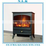 HIGH quality antique electri decorative electric fireplace with CE certificate freestanding led electrical fireplace