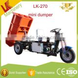 trade assurance suppliers mini track dumper/Top quality cargo tuktuk electric truck/hydraulic pump for dump truck load 2 ton
