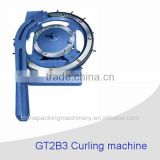GT2B3 Tin Can Lid Making Equipment Tin Can Curling Machine