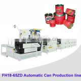 Automatic tomato paste or sardine can making machine