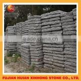 granite paving stone steps with mushroom style for landscaping decor