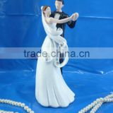 bride and groom cake decoration cake topper wedding figurine