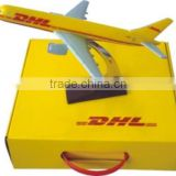 High Quality Polyresin B757 DHL Model Airplane