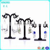High quality Black tree shape table top earing acrylic display holder for jewelry stores