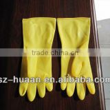 popular household latex/rubber gloves long sleeve chemical protection gloves