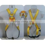 2016 Hot-sell safety harness safety belt for men workers/construction