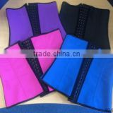 Factory Price 4 Colours 3 Hooks Underbust Colombian Cincher Latex Waist Trainer Corset