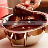 1Pc Stainless Chocolate Melting Pot Butter Milk Pouring Bowl Kitchen Bakery Baking Mixing Tools Helper Gadgets Bakeware