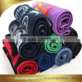 gaoyang hebei china sweat towel with letters many kinds to choice 100% cotton plain jacquard sports towel small 30*90cm