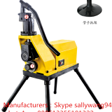 Pipe notching machine