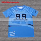 Best design dry fit custom sports shooter shirt