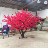 artificial peach tree for decoration high quality wishing tree for shopping mall decoration