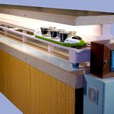 Fast/safe food delivery system with Sushi conveyor belt