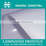 INquiry about laminated frontlit pvc flex banner roll 340gsm