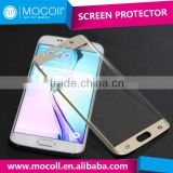 2016 IFA Fair hot sale 3D curved full screen 0.4mm tempered glass screen protector for Samsung Galaxy S6 Edge