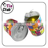 LED novelty can candle with scented for birthday gift