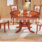 Classic solid wooden dining chair foshan dining room set                                                                         Quality Choice