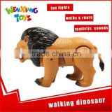 cool design cheap plastic walking animal toys for child
