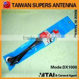 SUPERS DX-1000 145/435/900MHz 1.7/4.15dBi 50W M-P Connector Dual Band Mobile Radio Antenna