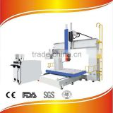 Woodworking 5 axis cnc router machine for model