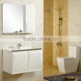 GV-04 32 inch floor mounted classic wooden hotel bathroom vanity