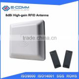 Best Quality Integrative UHF RFID card reader 6M long range 8dbi Antenna RS232/RS485/Wiegand of parking management system
