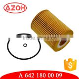OEM car parts transmission oil filter element A 642 180 00 09,A6421800009,A 642 184 00 25 for Germany car models