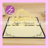 3D Music Guitar Wedding Invitation Party Card Greeting Card 3D-24