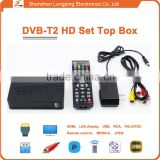 dvb-t2 usb dongle mulit tv reciver DVB-T2 Set Top Box