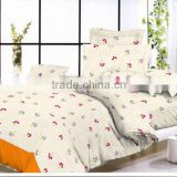 bright color microfiber pigment /desperse print bedding set/ bed sheet/duvet cover/pillow case/trade assurance