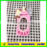 Monkey baby feeder silicone mobile 3d phone case for LG G4 Stylus cell phone back cover case                                                                         Quality Choice