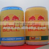 Promotional inflatable red bull can model for sale                                                                                                         Supplier's Choice