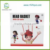 New educational toys basket case headband hoop game head basket toys