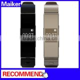 Business Style Headset Bluetooth Single Earphone; Smart Watch phone with Leather Strap ; Sedentary Reminder