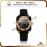 Color unisex excellent silicon jelly wristband watch