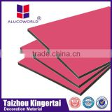 Alucoworld exterior wall cladding aluminum composite sheet interior concrete wall panels