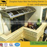 Easy to assemble outdoor caravan small window awning