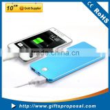 Rechargeable Big Capacity Power Bank 8000mah Slim Flat Power Bank Portable Battery Pack Power Bank for Laptop