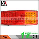 WEIKEN led tail light trailer Brake Stop Turn Tail Lights for truck tractors bus WK-BSWD03