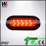 WEIKEN LED Strobe light head,tail light,mini warning light Vehicles Warning Light Head                                                                                                         Supplier's Choice