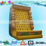 commercial grade inflatable rock climbing wall,inflatable climbing wall for kids n adult with factory prices